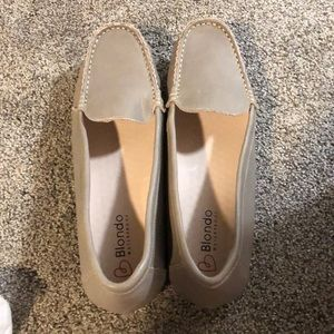 Blonde Dale Loafers Grey Size 9